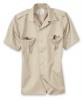 US Hemd, 1/2 Arm beige
