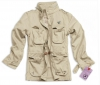 Ladies M65 Feldjacke / Surplus / Sommerjacke beige