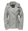 Ladies Pea Coat grau / Surplus / Kurzjacke 