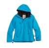 Damen Windbreaker petrol / Regenblouson 