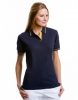 Ladies St. Mellion Polo Navy Gelb