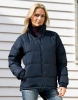Damen Winter Jacke navy