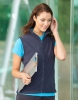 Micro-Fleece Damen Weste navy