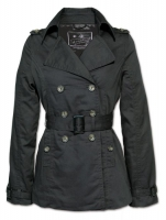 Ladiescoat / kurzer Mantel / Trenchcoat / Surplus