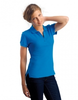 Womens Polo Passion Aqua