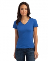 Classic V-Neck Women Bright Royal