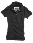 Ladies Polo schwarz / Poloshirt / Surplus