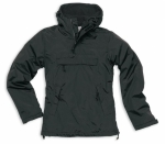 Ladies Windbreaker schwarz / Regenblouson