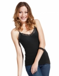 Women´s Lace Top schwarz