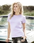 klassisches Damen T-Shirt Lavendel