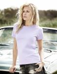 klassisches Damen T-Shirt Lavendel, Größe: L