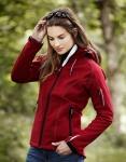 Damen Soft Shell Jacke mit Kapuze, Größe:: 3XL